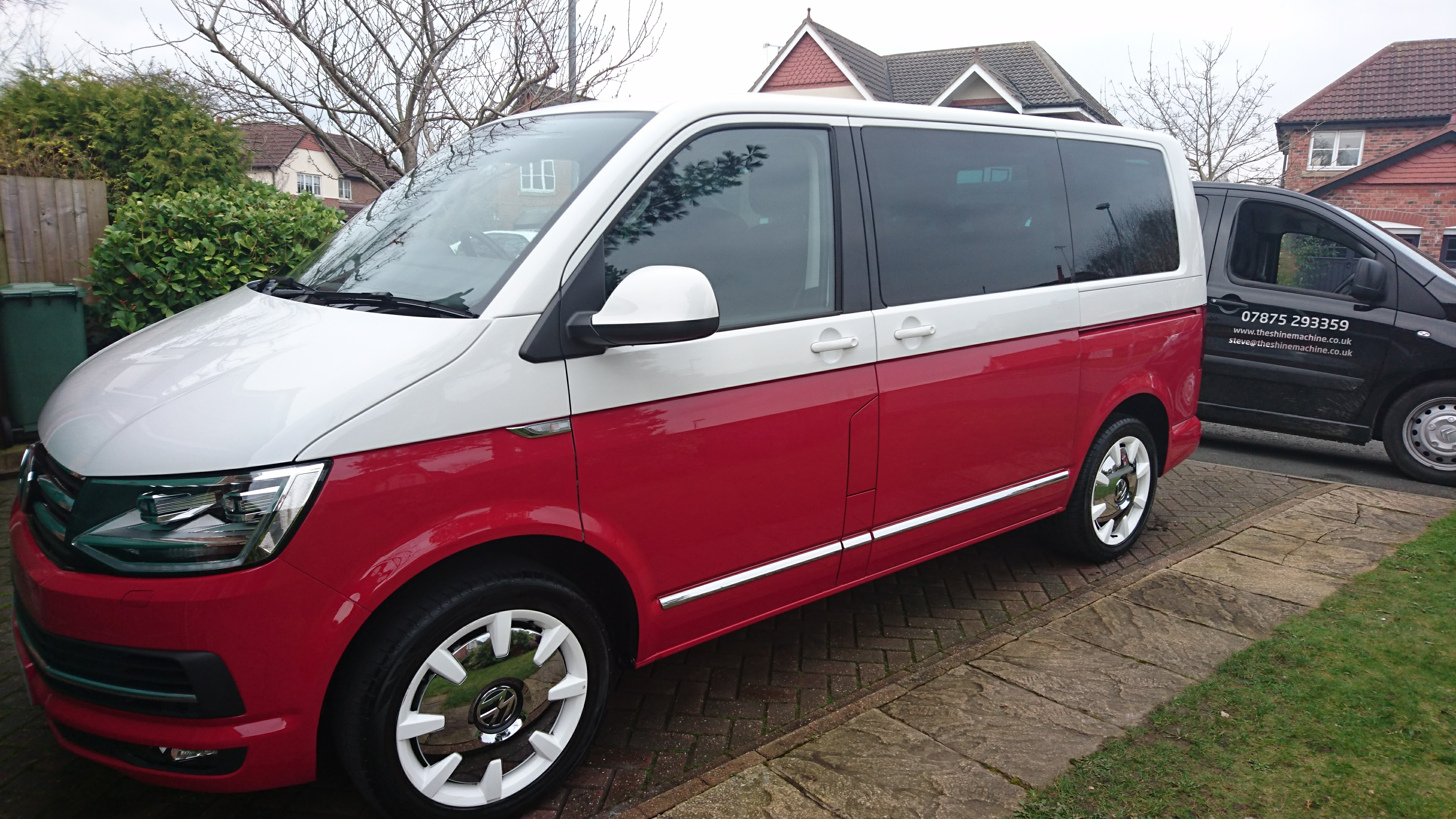 Paint Protection Of A Vw Caravelle The Shine Machine
